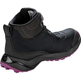 Icebug Detour RB9X GTX Chaussures Femme, black/dkmagenta
